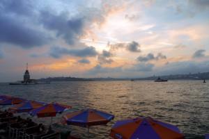Überlebenstipps für Istanbul - Sonnenuntergang
