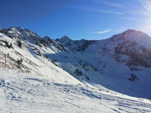 Skigebiet Kanzelwand fellhorn