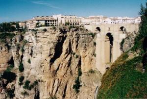 Die Stadt Ronda in der andalusischen Provinz Málaga - Südeuropa