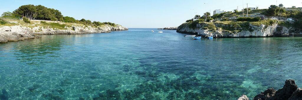 Wunderschöne Bucht bei Otranto - Südeuropa