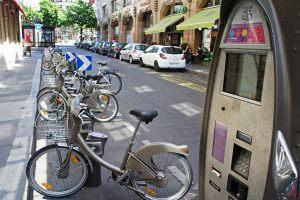 Paris - Velib - Fahrräder umsonst