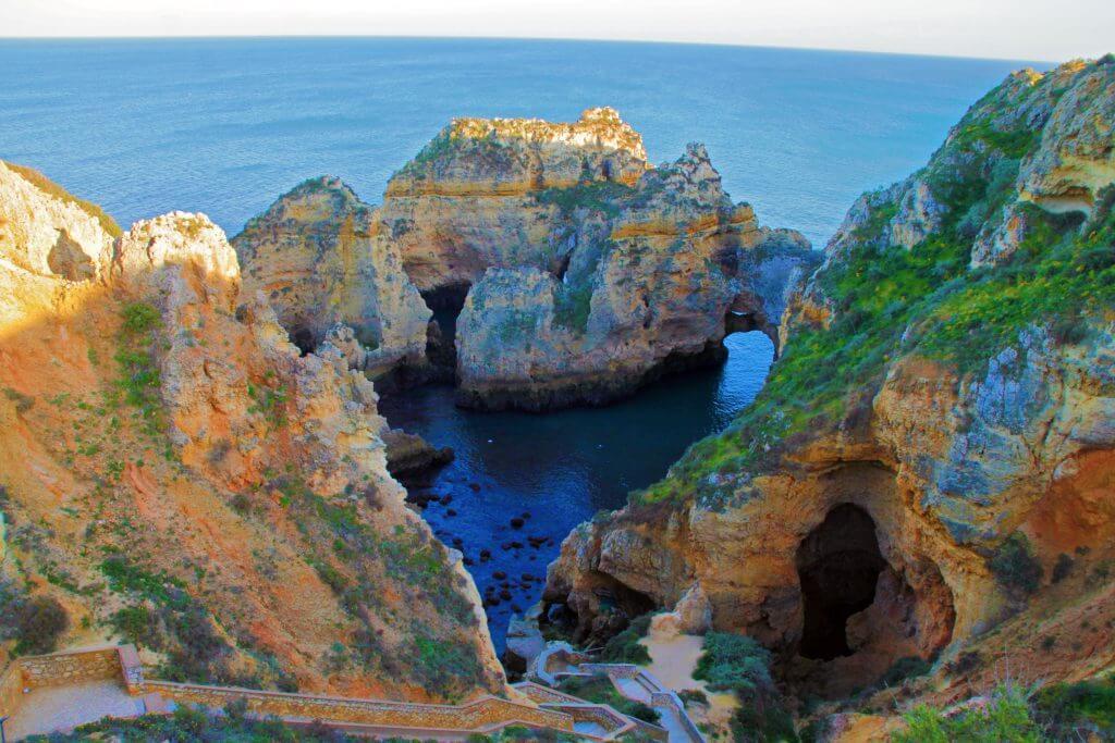Algarve mit der Ponta da Piedade