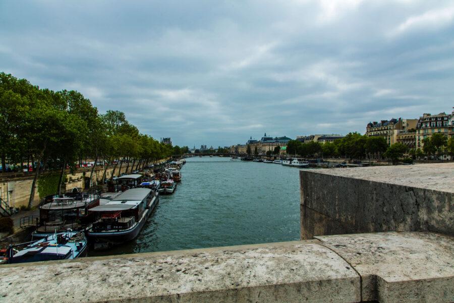 Paris - Blick auf die Seine