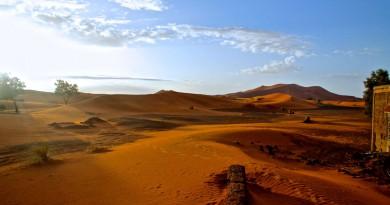 Wüste Sonnenaufgang