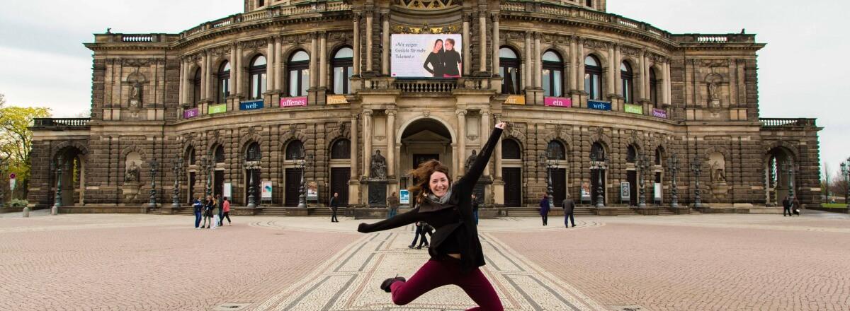 Dresden: Sei mutig – besuche den Osten