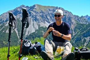 Ein Espresso auf dem Gipfel