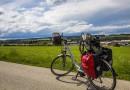 E-Bike im Allgäu vor Traumkulisse
