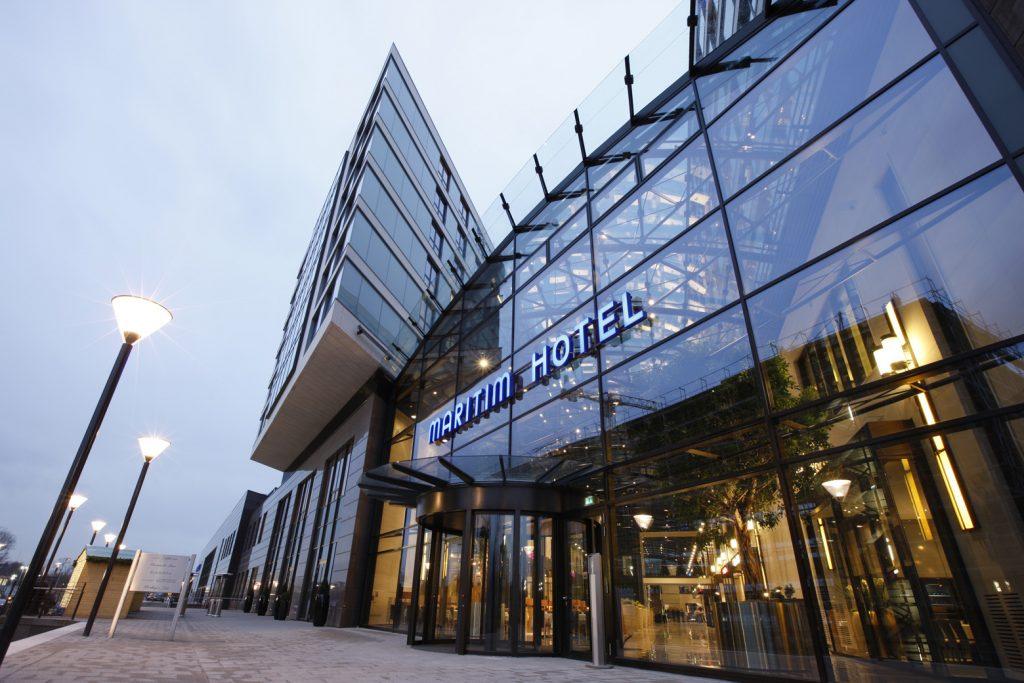 Gewinnspiel Maritim Hotel Düsseldorf - Außenansicht