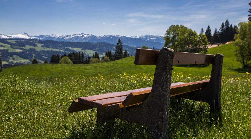Radrunde Allgäu Bank Scheidegg
