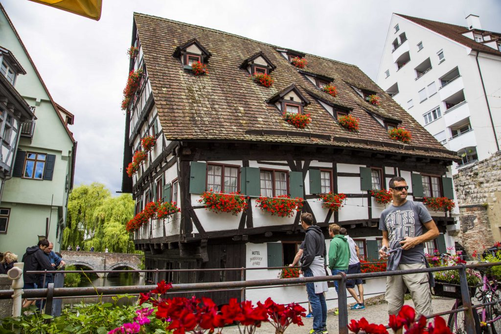 Ulm - schiefes Haus