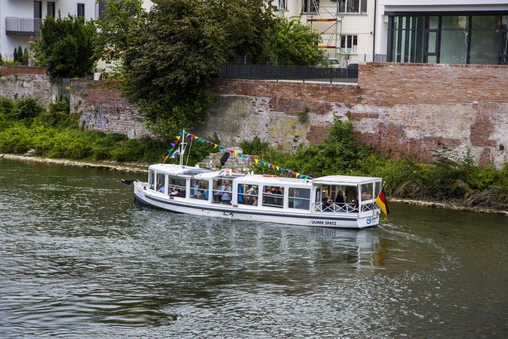 Ulm - Boot fahren