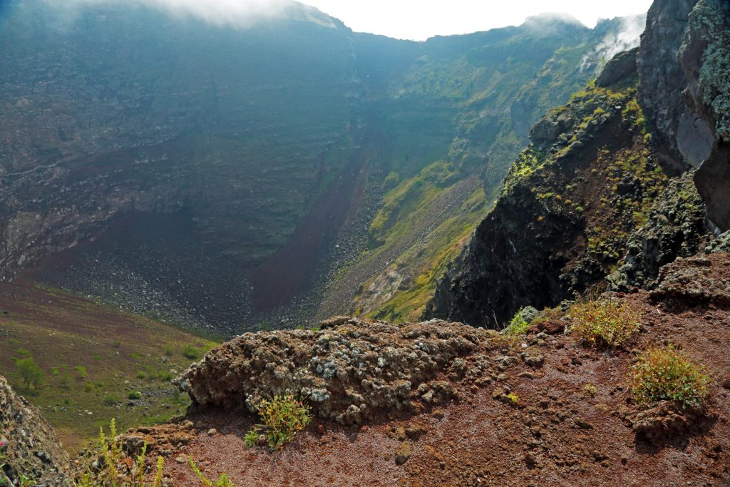 Vesuv Italien Krater
