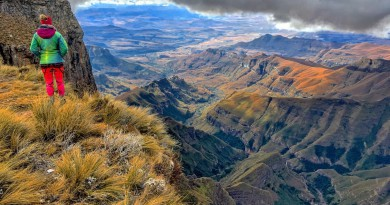 Drakensberge: Sentinel Hike, Amphitheater und Tugela Falls