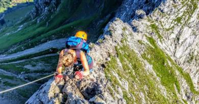 Der Hindelanger Klettersteig – dem Himmel so nah